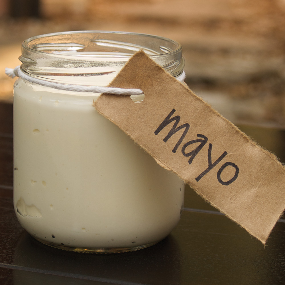 Homemade Paleo Olive Oil Mayo