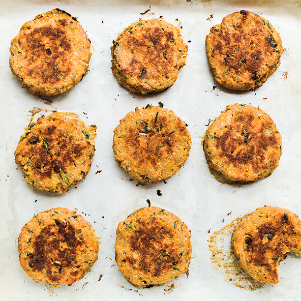 Oven Fried Salmon Cakes From Well Fed 2