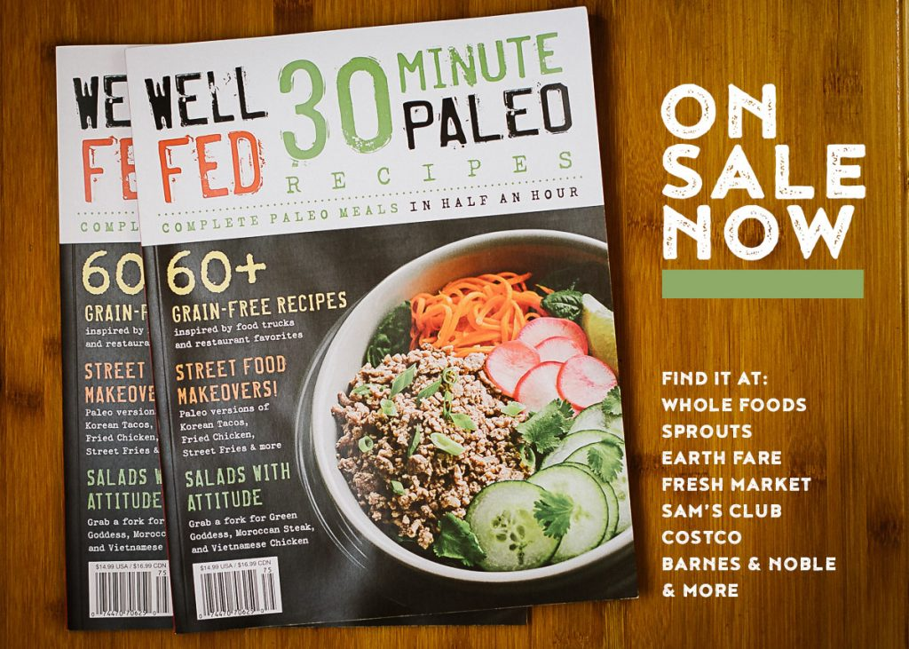 Well fed 30 minute recipes magazine save forumfinder Choice Image