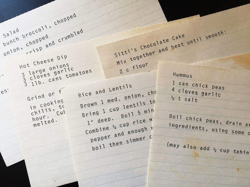 6 Easy Ways To Keep Your Recipes Organized